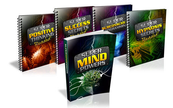 Secrets of the Mind - Super Mind Powers Book Set